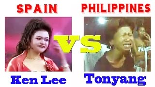 Ken Lee (Spain) VS Tonyang (Philippines) Singing Battle