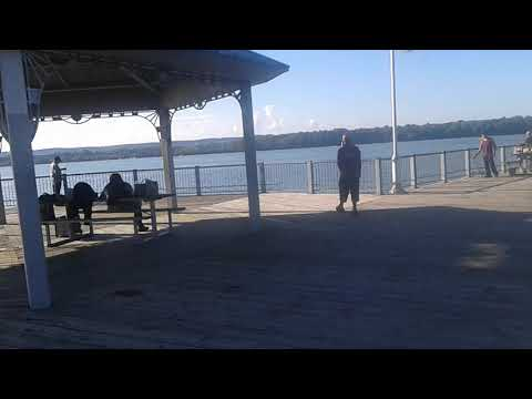 Hot Fishing Spot Around Hamilton Harbour Pier 4 Gazebo