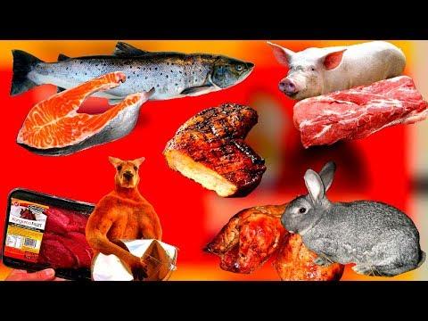 Виды мяса, какие виды мяса вредны, а какие нет