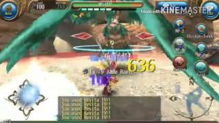 Toram online Jade Raptor solo (Normal)