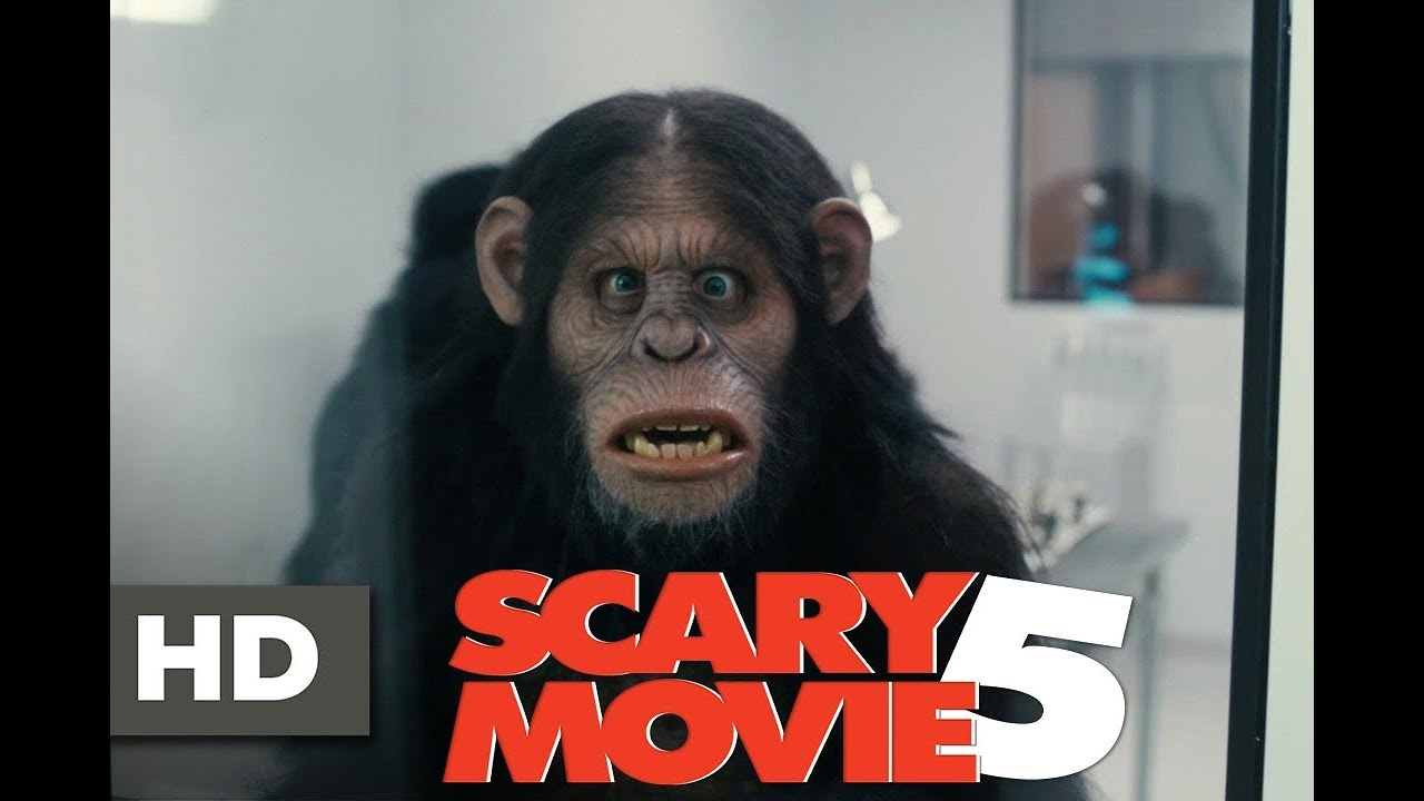 Scary Movie 5 Best Scene The Lab Monkey Scene Youtube