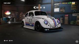NFS PAYBACK - Herbie Derelict Volkswagen beetle super build
