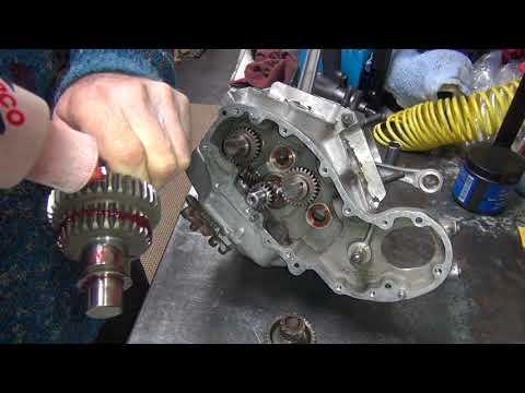 1942 Wlc #107 Wla 45ci Flathead Dirty Motor Rebuild Harley Wl Side-valve  By Tatro Machine