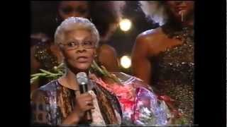Abba Tribute Finale Dionne Warwick Thank you for the music  AllStars