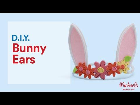 DIY Easy Bunny Ears Headband | Michaels