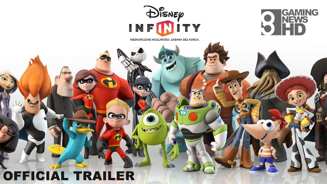 Disney Infinity Official Trailer Pl Youtube