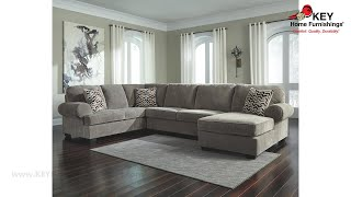 Ashley Jinllingsly 3 Piece Sectional With Chaise (APK-72502-R3) | KEY Home