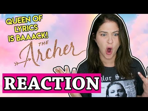 Taylor Swift - The Archer | REACTION