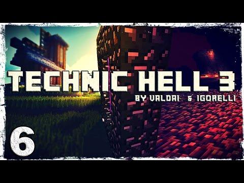 Смотреть прохождение игры [Coop] Minecraft Technic Hell 3. #6: Две башни.