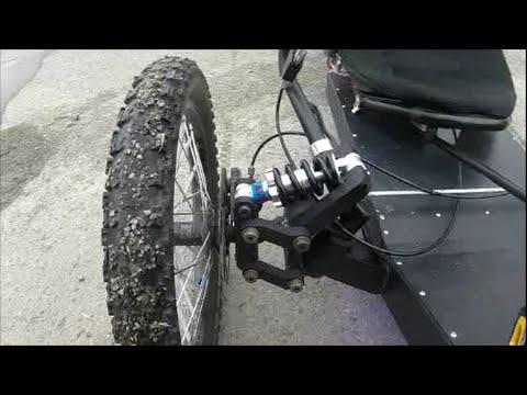 KMX Trike Front suspension - YouTube