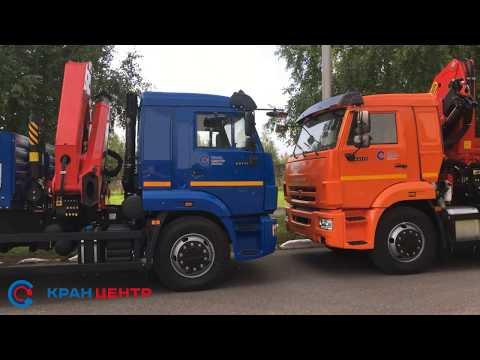 КМУ Palfinger РК 23500 на шасси КАМАЗ 65115 и 65117