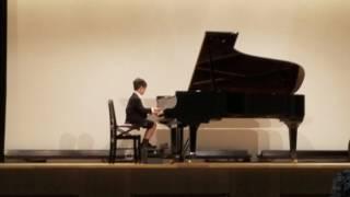 東京国際ピアノコンクール予選 2017 小学生部門 Saitoくん W.A.モーツァルト「二つの変奏曲」ジュゼッペ・サルティのオペラ主題による