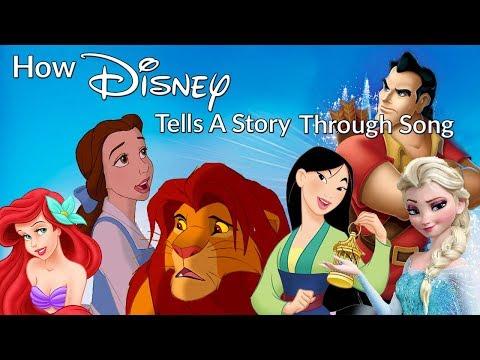 How Disney Tells A Story Through Song