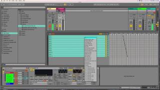 IDM/Glitch Beats 2 (slice randomizing) Ableton Tutorial = Ned Rush