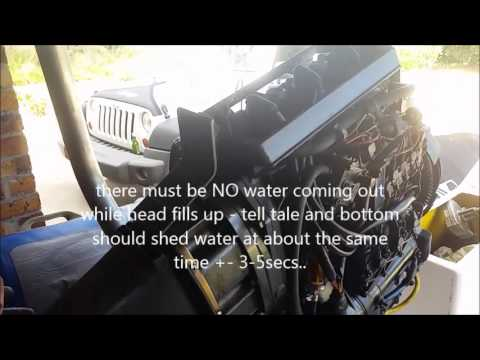 80s Mercury Mariner Outboard Lower Unit Remove Install