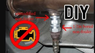 How to keep the check engine off when removing catalytic converter