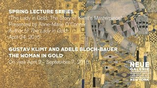 """The Lady in Gold,"" a lecture by author Anne-Marie O"