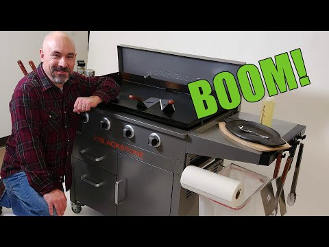 Blackstone Proseries Griddle Reveal Youtube