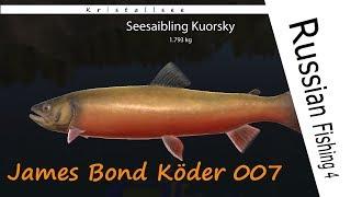 Russian Fishing 4 - #124 - 007 James-Bond-Köder