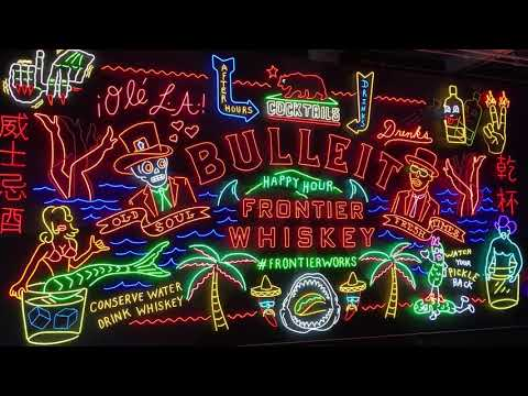 Bulleit Frontier Works: The Neon Project at Grand Central Market in DTLA. August 17, 2017