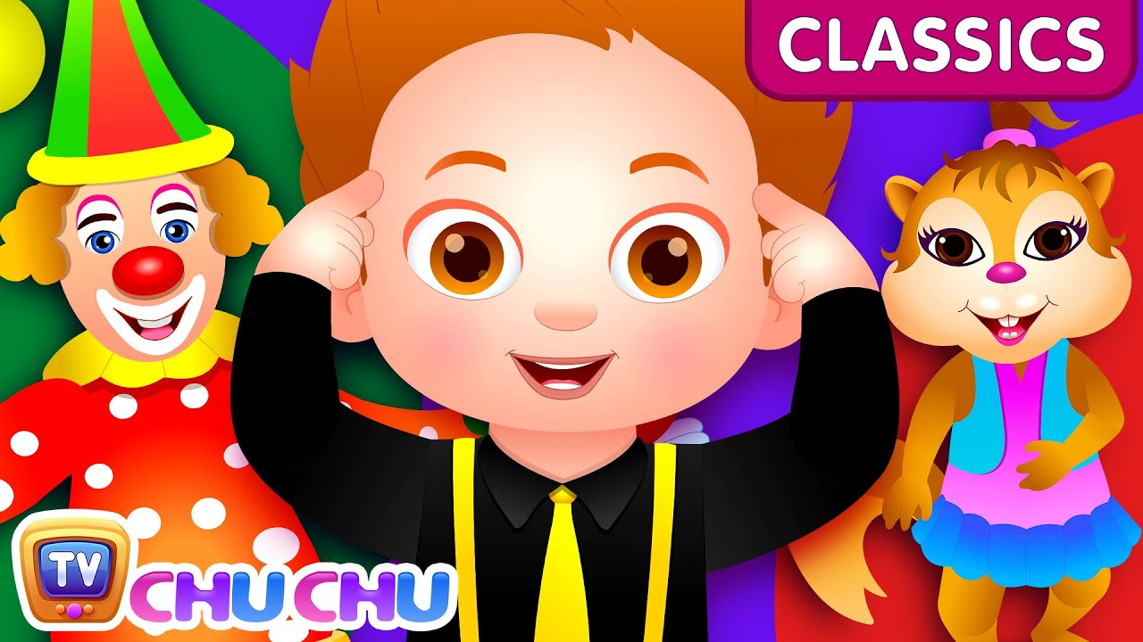 ChuChu TV Classics – Head Shoulders Knees & Toes Dance Song | Nursery Rhymes and Kids Songs