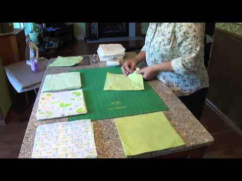 Rag Quilting Made Easy Baby Quilt Video