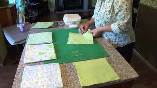 Rag Quilting Made Easy/baby Rag Quilt Video