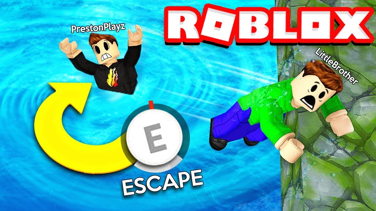 Roblox Flood Escape Obby Challenge With My Little Brother Rage