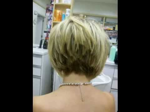 33 Short stacked hairstyles for women  YouTube