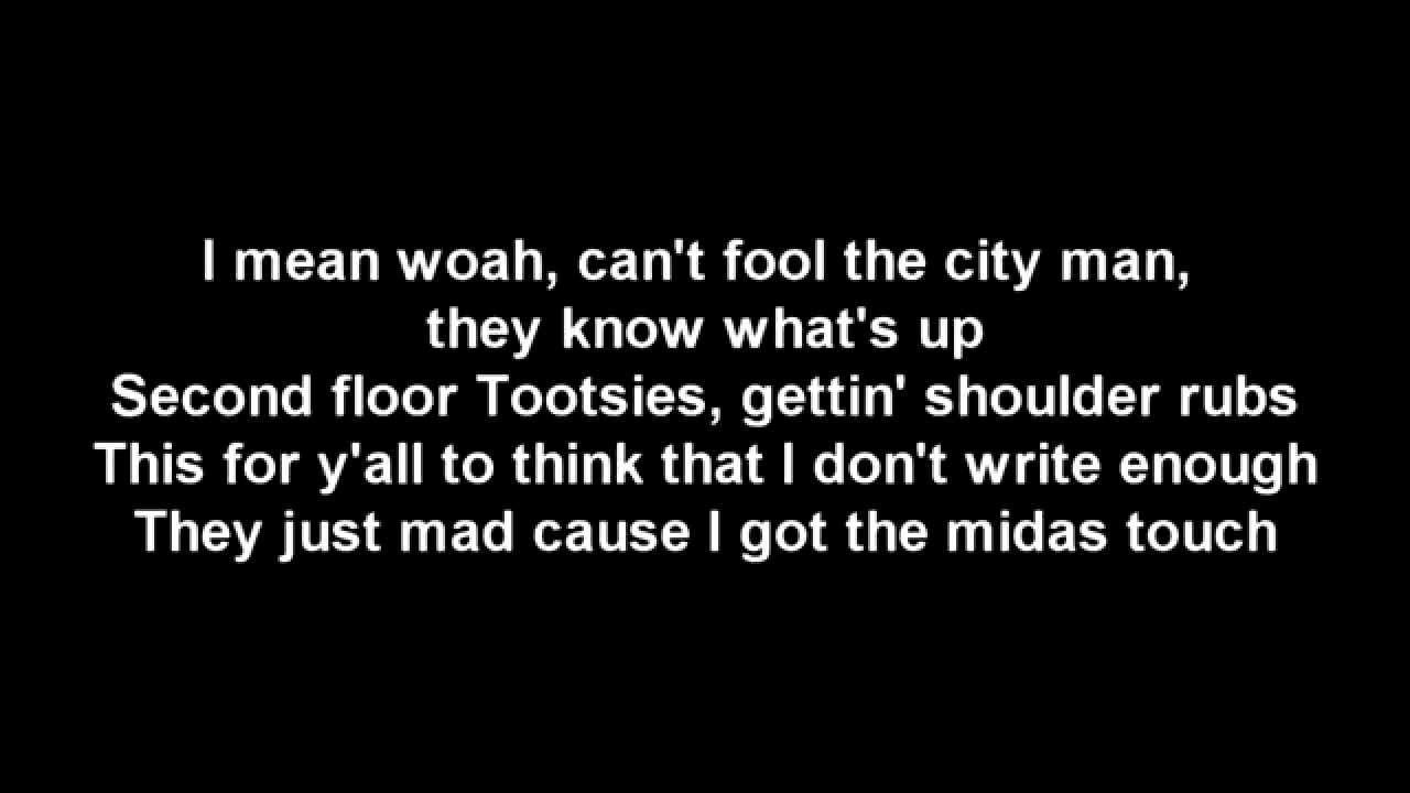 Lyrics To The Song Pound Cake