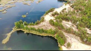 Голубые озера в Лимане Красном Лимане. Пляж Ибица Сказка Озера. Начало сезона 2019г.