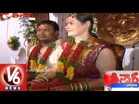 A Karimnagar Guy Married An American Lady - Teenmaar News