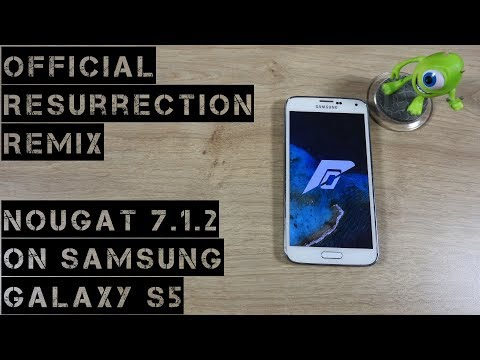 How to install Official Resurrection Remix on Samsung Galaxy S5 - Android 7.1.2 Nougat [Tutorial]
