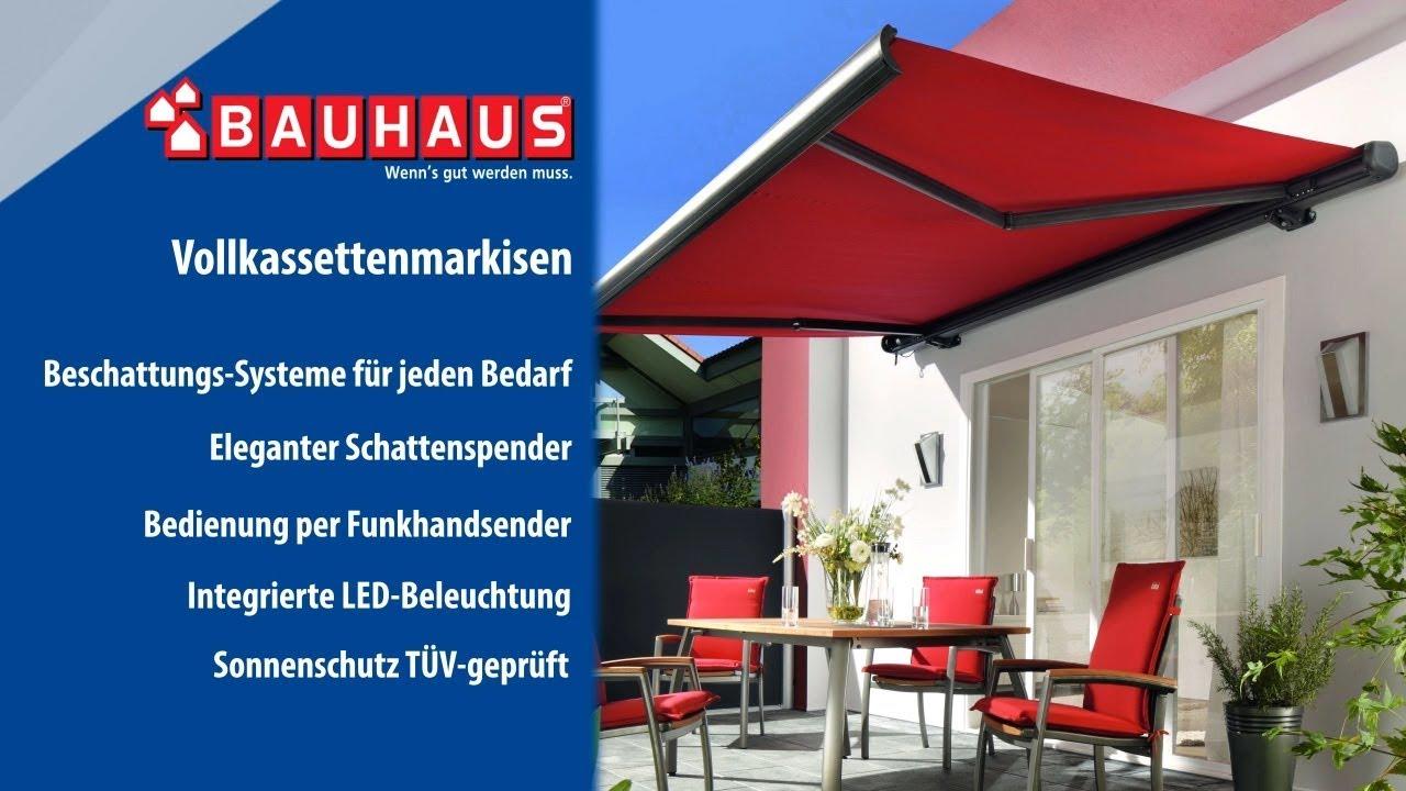 Vollkassetten Sonnenstore Bauhaus Tv Youtube