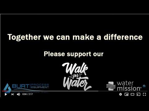 Burt Process Walk 4 Water 2020