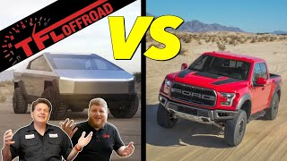 The Tesla Cybertruck - NOT The Ford Raptor -  Is the New Off-Road Champion! No You're Wrong!