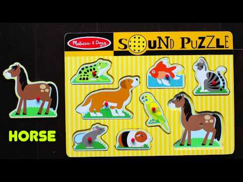 Learning Animal Sounds with a Sound Puzzle