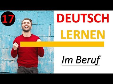Deutsch lernen - Im Beruf 17 (C1)