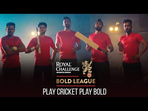 Play Cricket - Play Bold | Clinton Cerejo | ABY | Anand Bhaskar | Royal Challenge Sports Drink