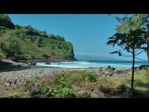 Ala Kahakai Beach and Honokohau Bay, Maui, Hawaii