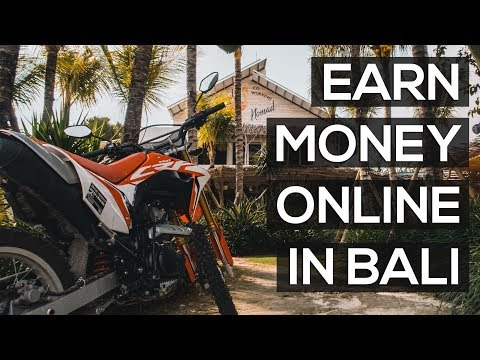 HOW TO EARN MONEY ONLINE IN BALI