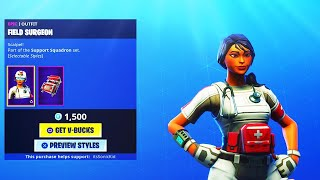 "GIFTING FIELD SURGEON SKIN TO SUBSCRIBERS! | Use Code ""itsSonicKid"" 