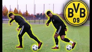 TRAINING LIKE PROS AT DORTMUND