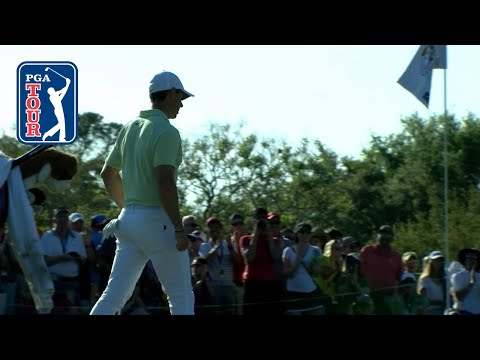 Rory McIlroy's incredible chip-in birdie at Arnold Palmer