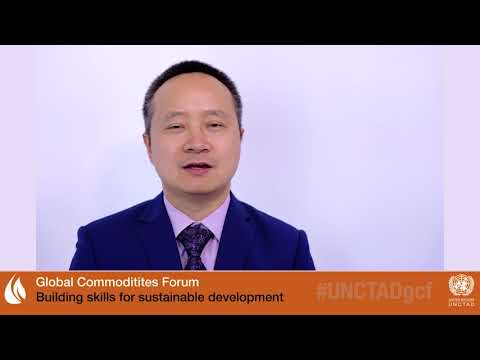 Dr Xunpeng (Roc) SHI at UNCTAD's Global Commodities Forum 2018