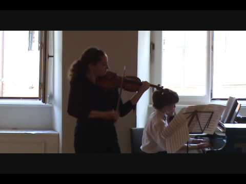 Beethoven Violin Sonata No. 1