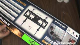 first look at a extreme brand ultra slim tv wall mount maxwellsworld