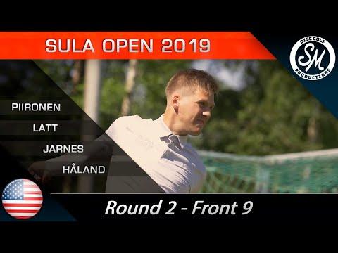 Sula Open 2019 | Round 2 Front 9 | Piironen, Lätt, Jarnes, Håland *English*