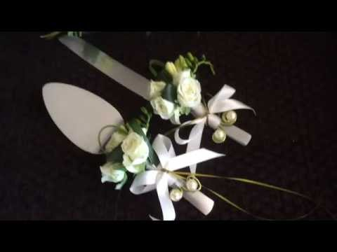 HOW TO DECORATE KNIFE AND SERVER SET
