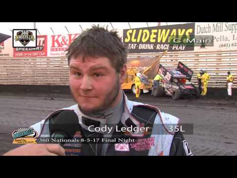 360 Knoxville Nationals Preliminary Features and Interviews